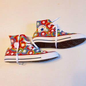 Converse/Spinch high-top custom made sneakers NWOT